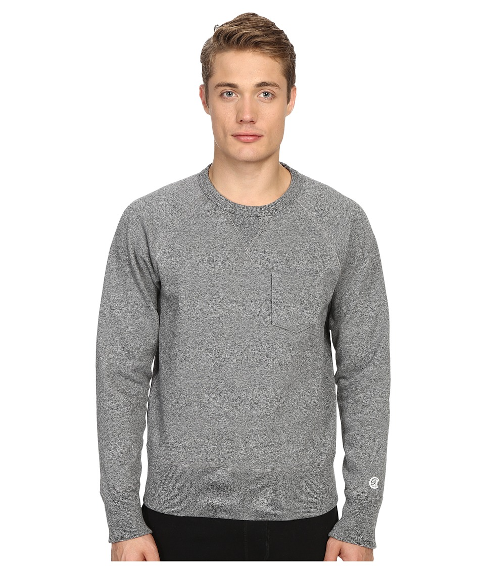 Todd Snyder + Champion - Pocket Sweatshirt (Salt/Pepper) Men's Sweatshirt