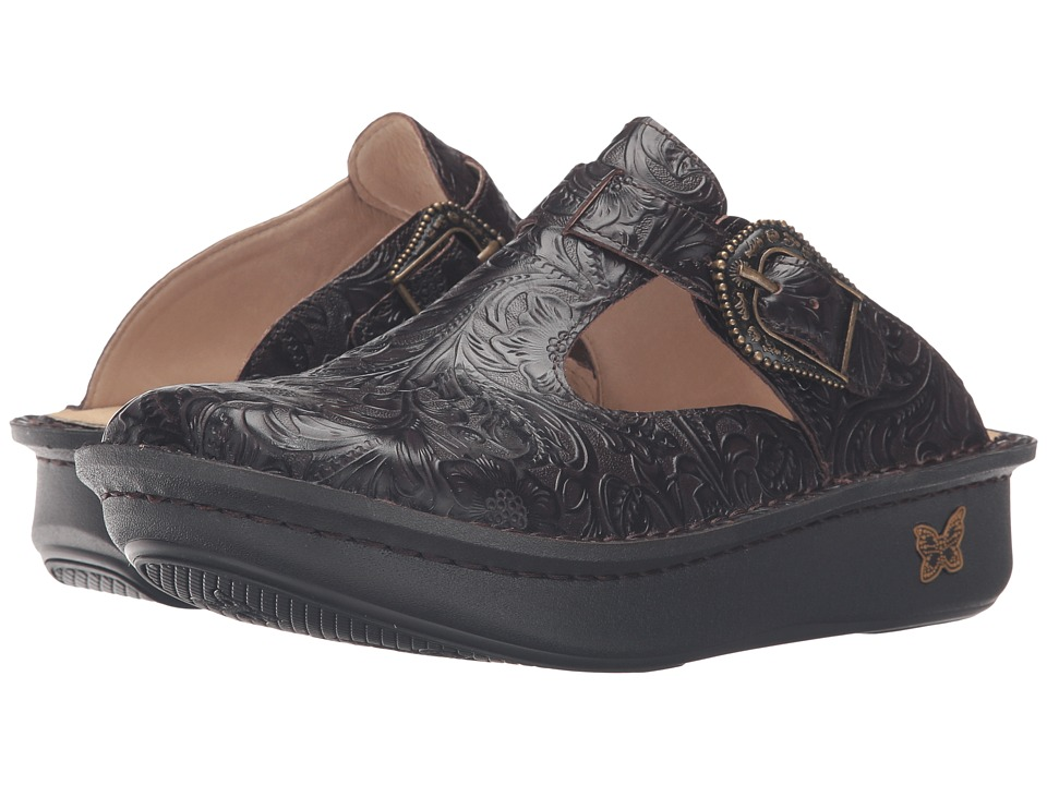 Alegria - Classic (Molasses Tooled) Women's Clog Shoes