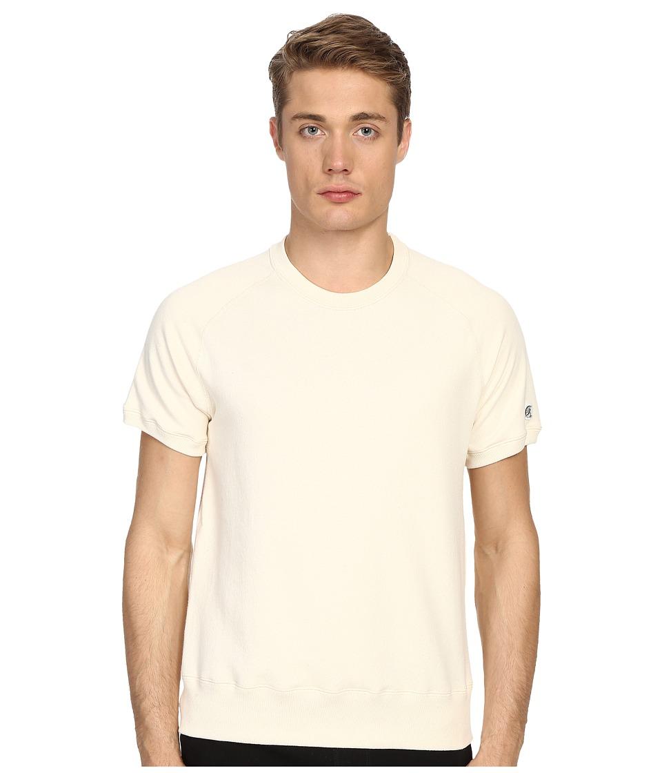 Todd Snyder + Champion - Short Sleeve Sweatshirt (Vintage White) Men's Sweatshirt