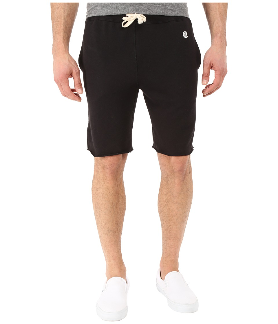 Todd Snyder + Champion - Cut Off Sweatshorts (Black) Men's Shorts