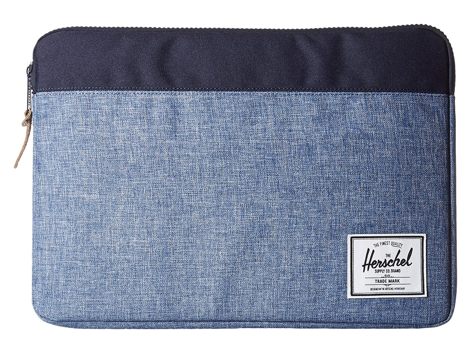 Herschel Supply Co. - Network Large (Limoges Crosshatch/Peacoat) Wallet