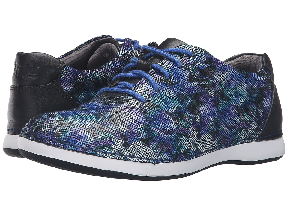 Alegria - Essence (Winter Garden Navy) Women's Lace up casual Shoes