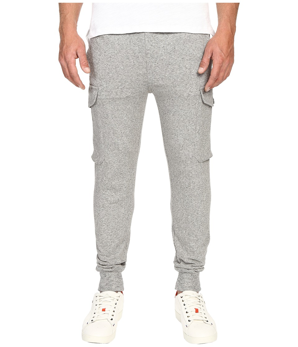 Todd Snyder + Champion Slim Cargo Sweatpants (Grey Heather) Men