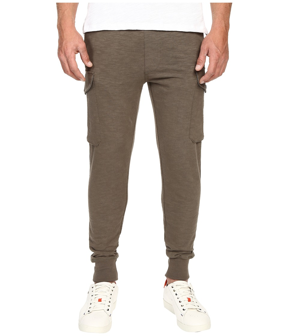 Todd Snyder + Champion - Slim Cargo Sweatpants (Surplus) Men's Casual Pants