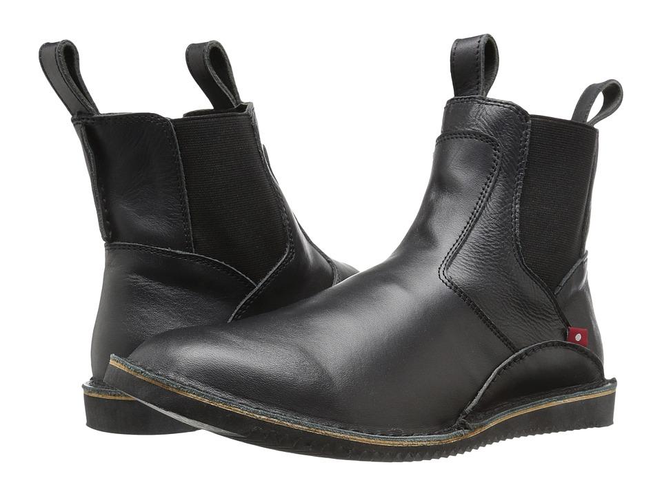 Oliberte - Mudiko (Bold Black Full Grain) Men's Pull-on Boots