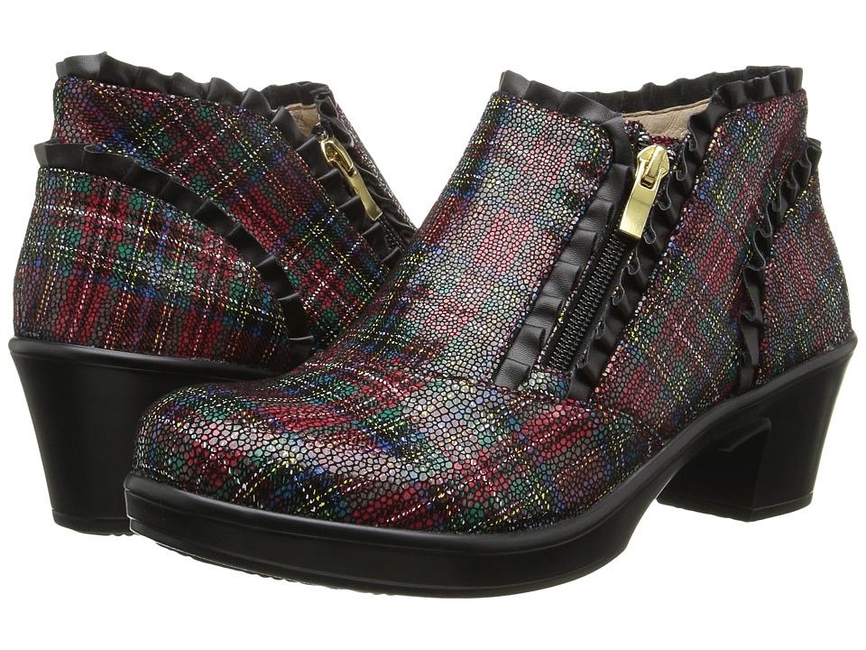 Alegria - Hannah (Tartan) Women's Pull-on Boots
