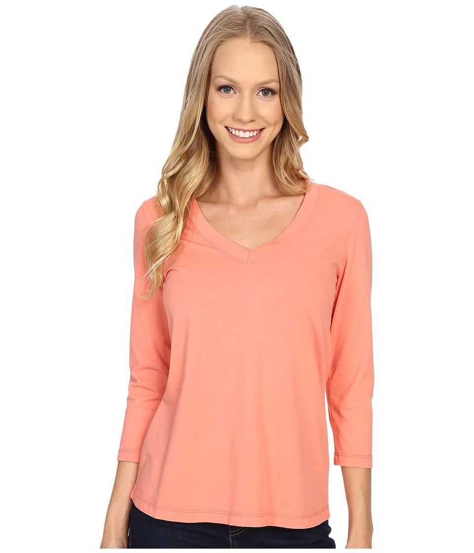 Mod-o-doc - 3/4 Sleeve V-Neck Tee (Gelato) Women's T Shirt