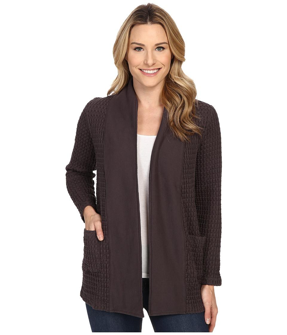 Mod-o-doc - Monster Rag Shawl Collar Cardigan (Shadow) Women's Sweater