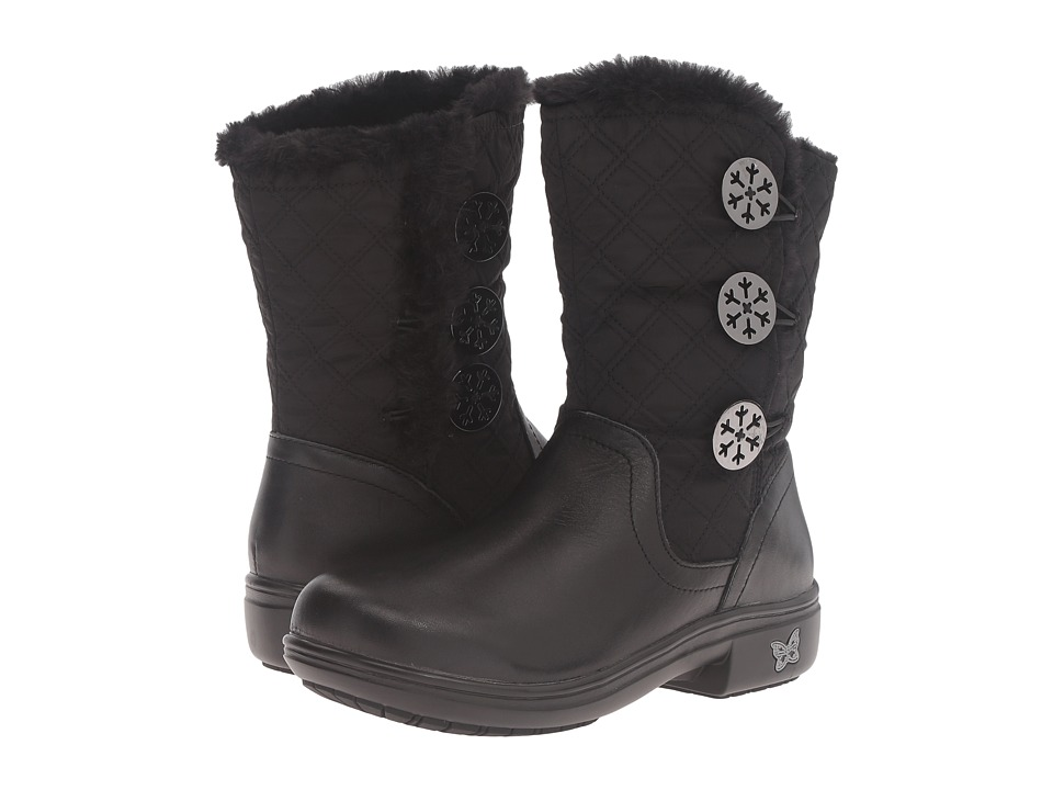 Alegria - Nanook (Quilted Black) Women's Boots