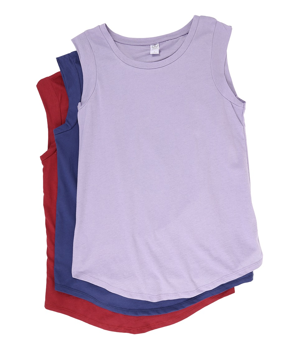 Alternative - The Luxe Crew 3-Pack Bundle (Dusty Plum/Navy/Redwood) Women's Sleeveless