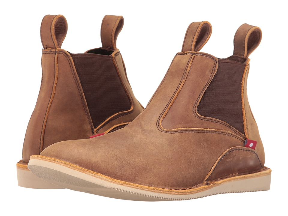 Oliberte - Zulira (Rustic Brown Pullup) Women's Pull-on Boots