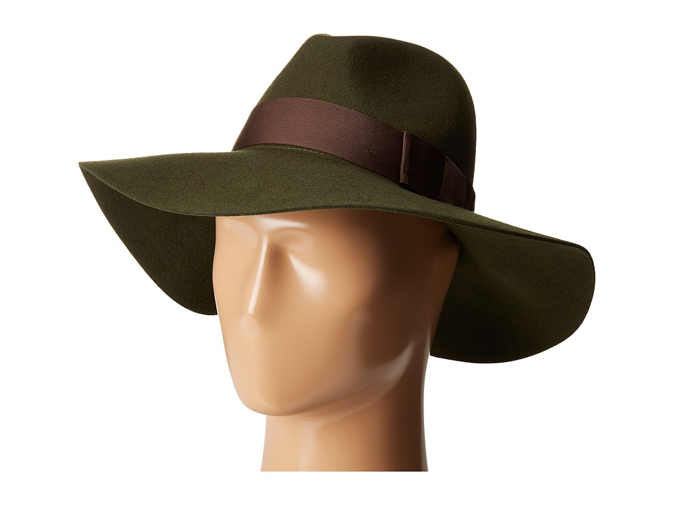 Brixton - Piper (Moss) Traditional Hats