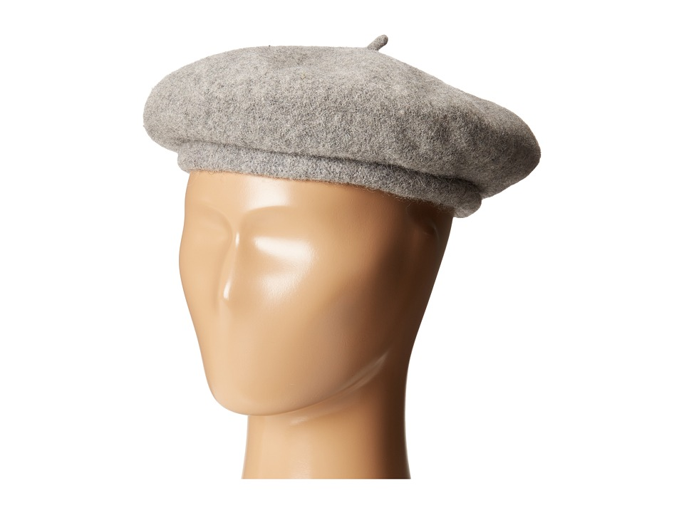 Brixton - Audrey Beret (Heather Grey) Berets
