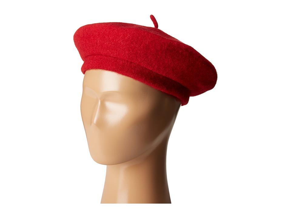 Brixton - Audrey Beret (Red) Berets