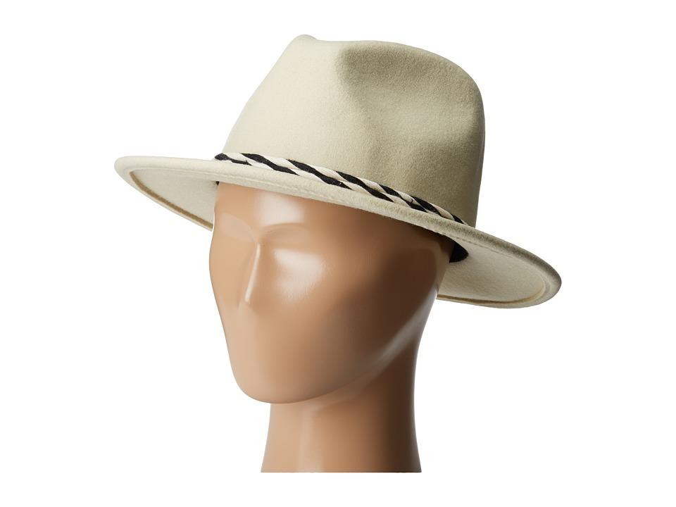 Brixton - Corbet Fedora (Bone) Fedora Hats