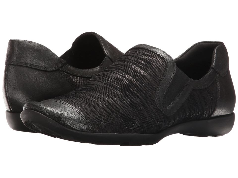 Sesto Meucci - Gift (Black Aryn/Black Natan) Women's Slip on Shoes
