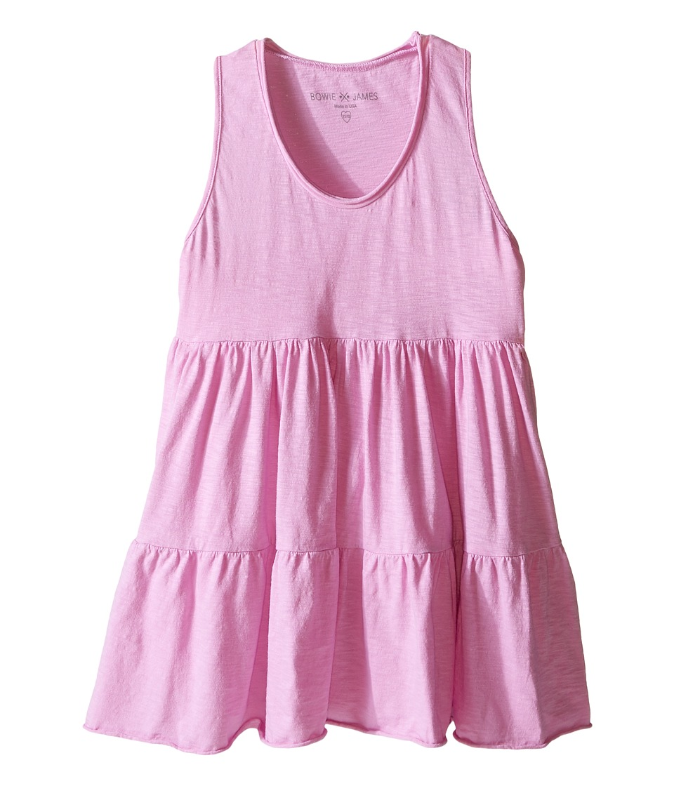 Bowie X James - Swing Tank Top (Toddler/Little Kids/Big Kids) (Pink) Girl's Clothing