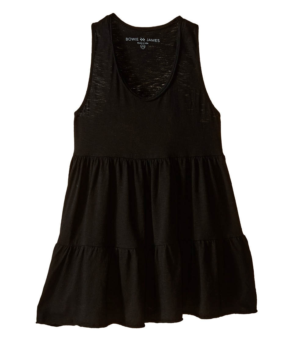 Bowie X James - Swing Tank Top (Toddler/Little Kids/Big Kids) (Black) Girl's Clothing
