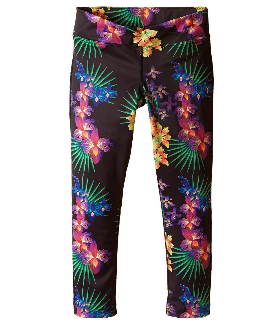 Bowie X James - Surf's Up Swim Leggings (Toddler/Little Kids/Big Kids) (Black) Girl's Swimwear