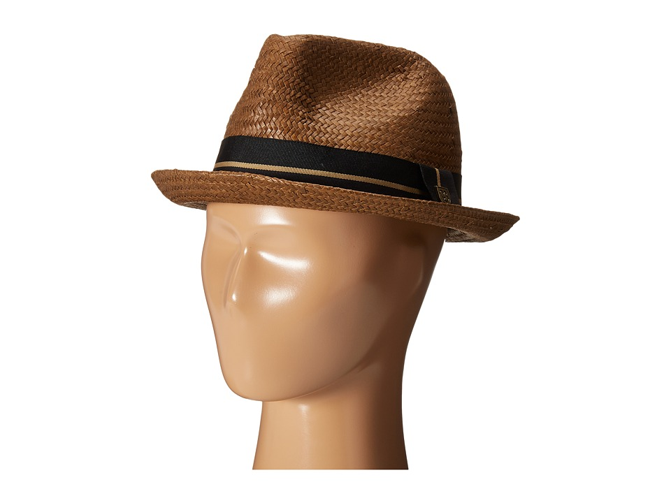Brixton - Castor (Light Brown/Black) Traditional Hats