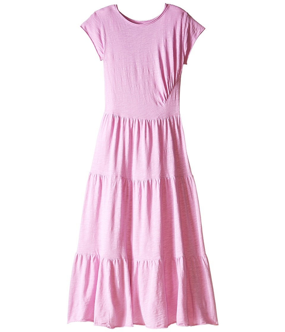 Bowie X James - Maximum Heartbreak Maxi Dress (Toddler/Little Kids/Big Kids) (Pink) Girl's Dress