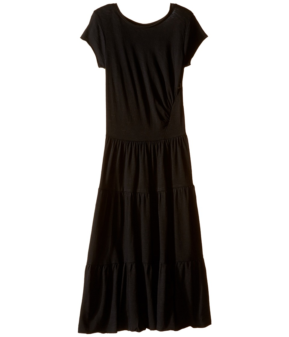 Bowie X James - Maximum Heartbreak Maxi Dress (Toddler/Little Kids/Big Kids) (Black) Girl's Dress