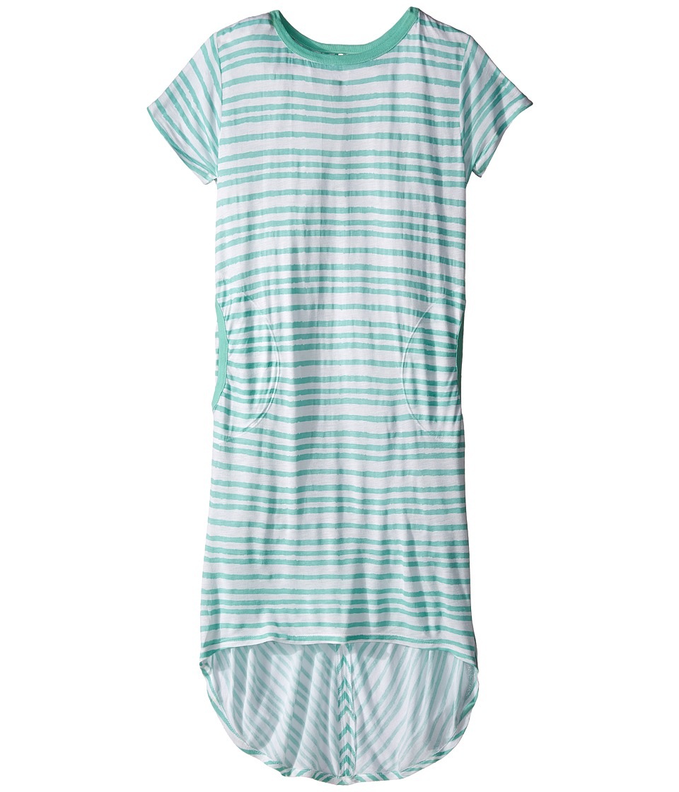 Bowie X James - Sweet Tee Dress (Toddler/Little Kids/Big Kids) (Seafoam) Girl's Dress
