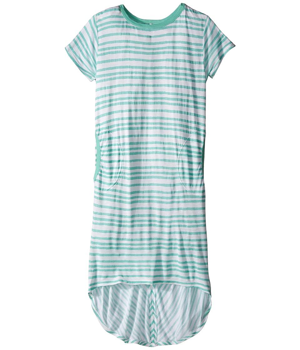 Bowie X James - Sweet Tee Dress (Toddler/Little Kids/Big Kids) (Seafoam) Girl's Dress