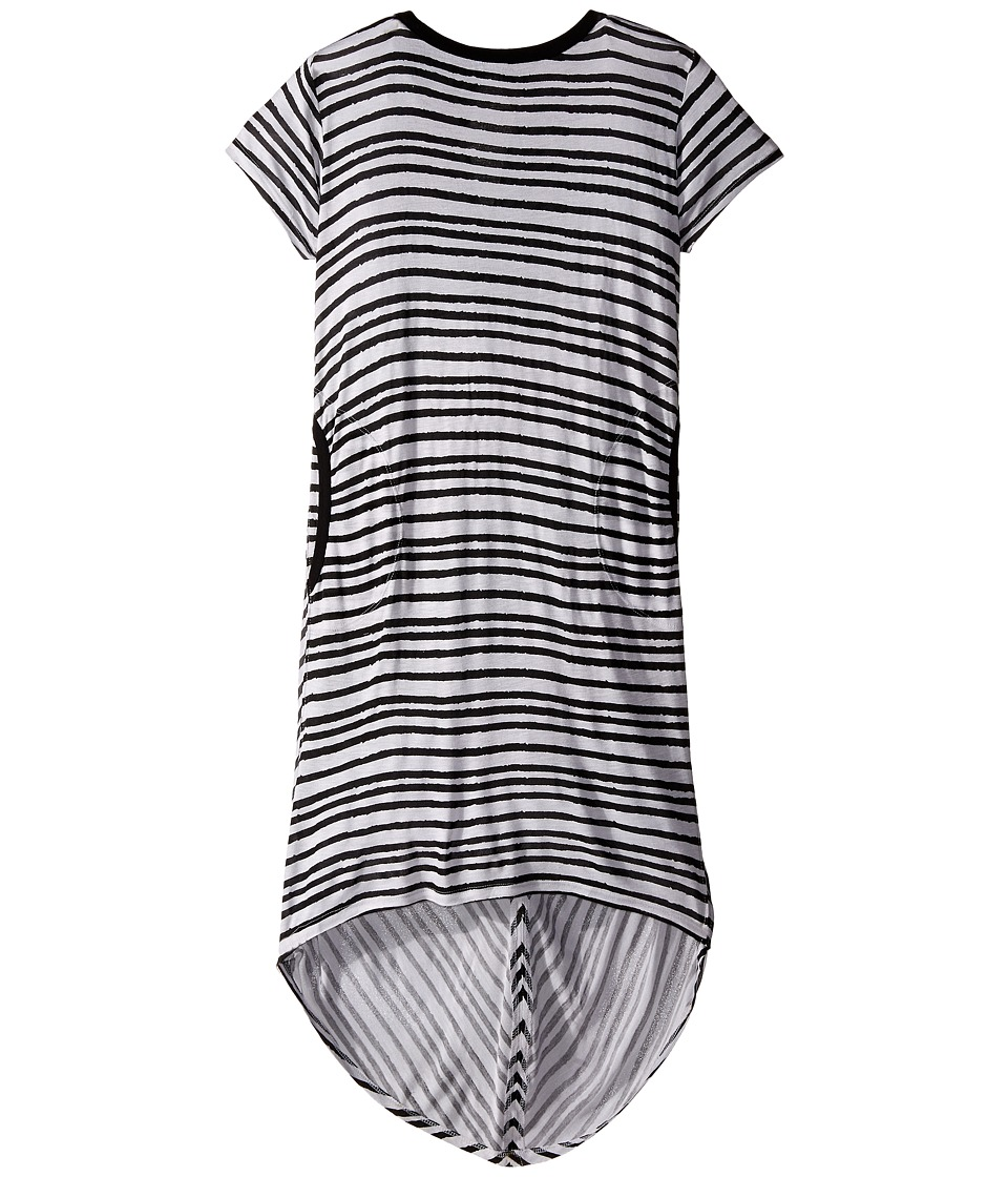 Bowie X James - Sweet Tee Dress (Toddler/Little Kids/Big Kids) (Black) Girl's Dress
