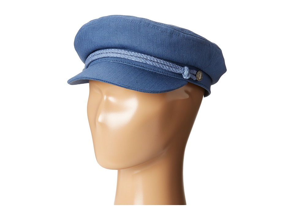 Brixton - Fiddler (Washed Navy) Traditional Hats