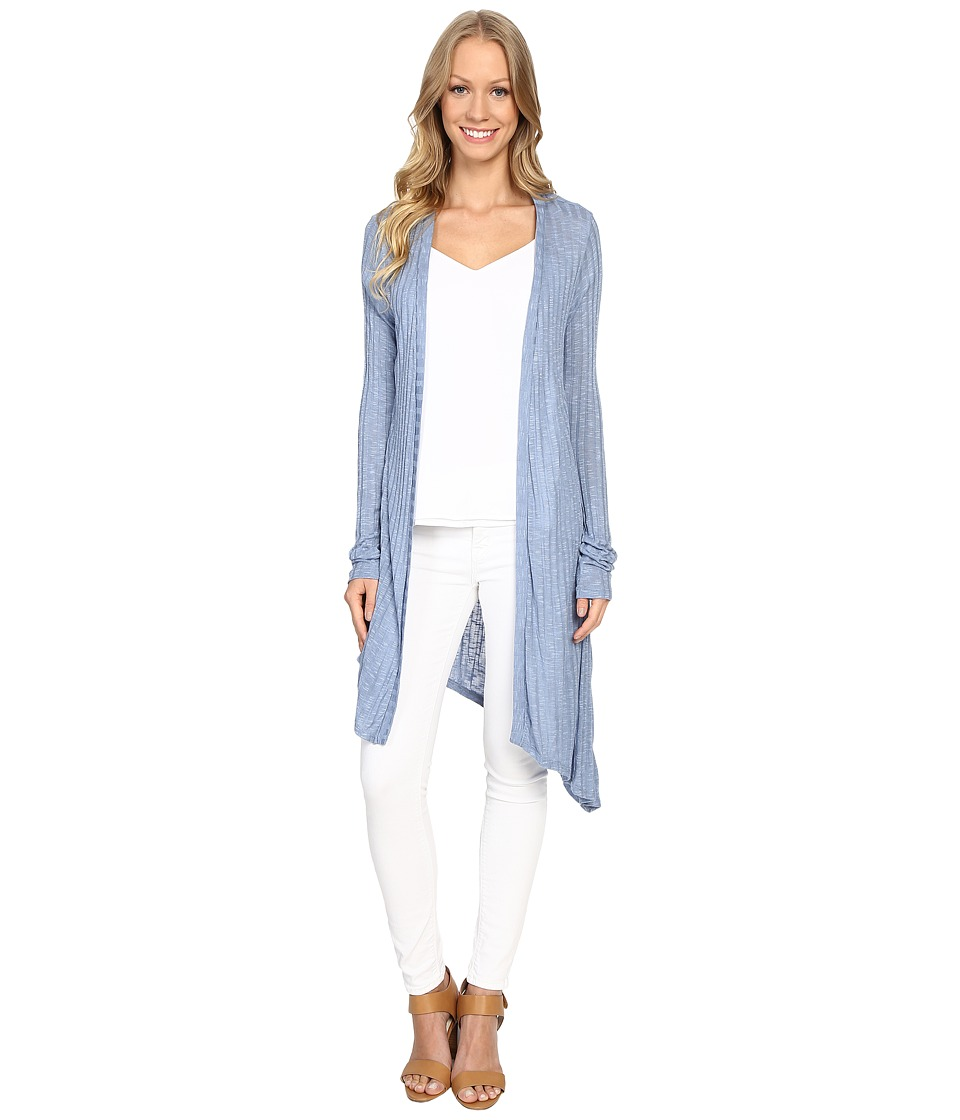 B Collection by Bobeau - Knox Asymmetric Duster Cardigan (Blush) Women's Sweater