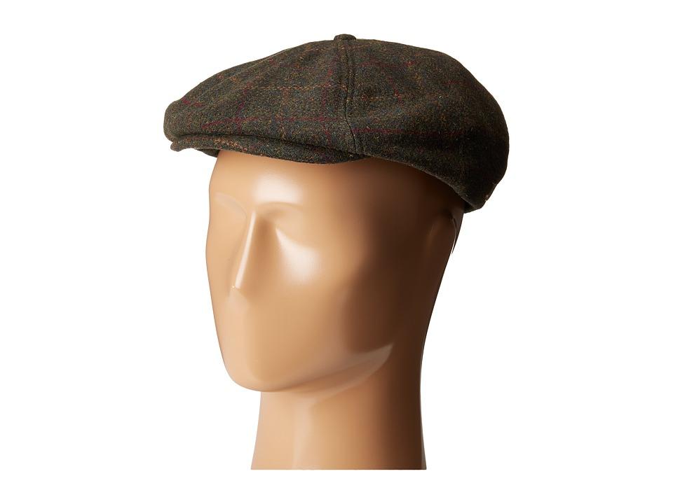Brixton - Brood Snap Cap (Moss/Copper) Caps