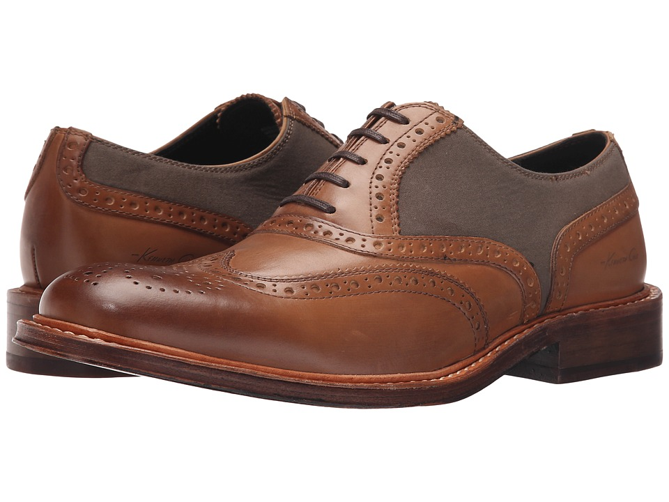 Kenneth Cole New York - Add-Icted 2 U (Cognac) Men's Shoes