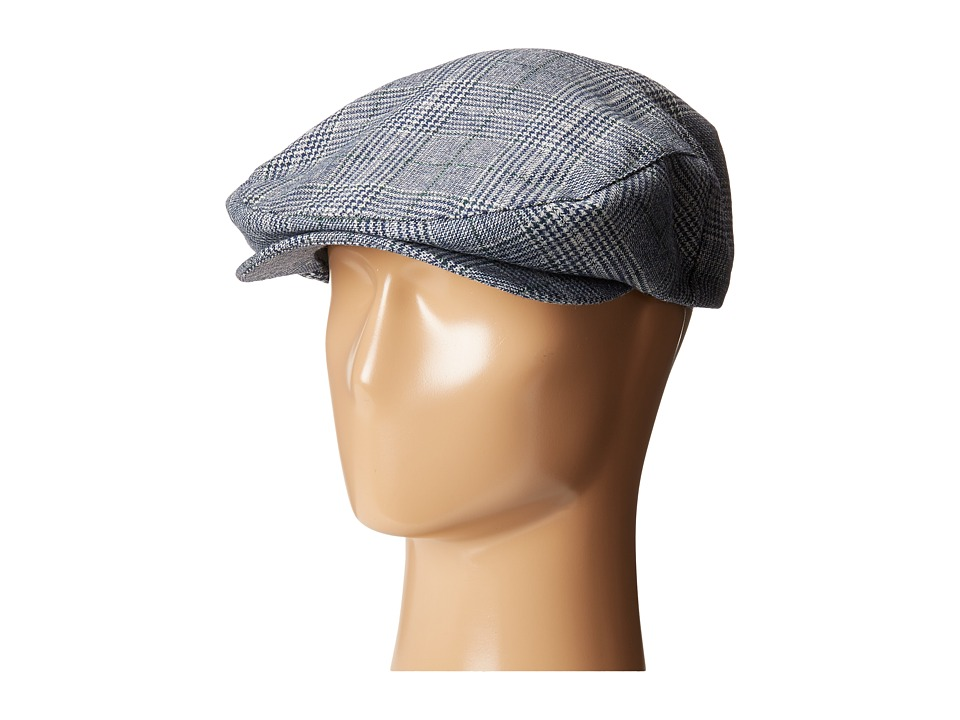 Brixton - Barrel Snap Cap (Navy Plaid) Caps