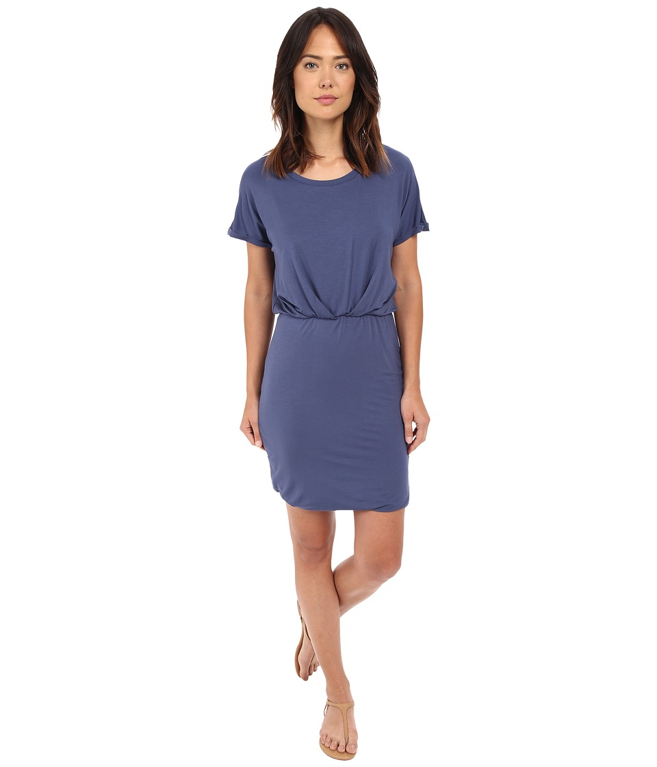 B Collection by Bobeau - Sia Knit Dress (Blue) Women's Dress