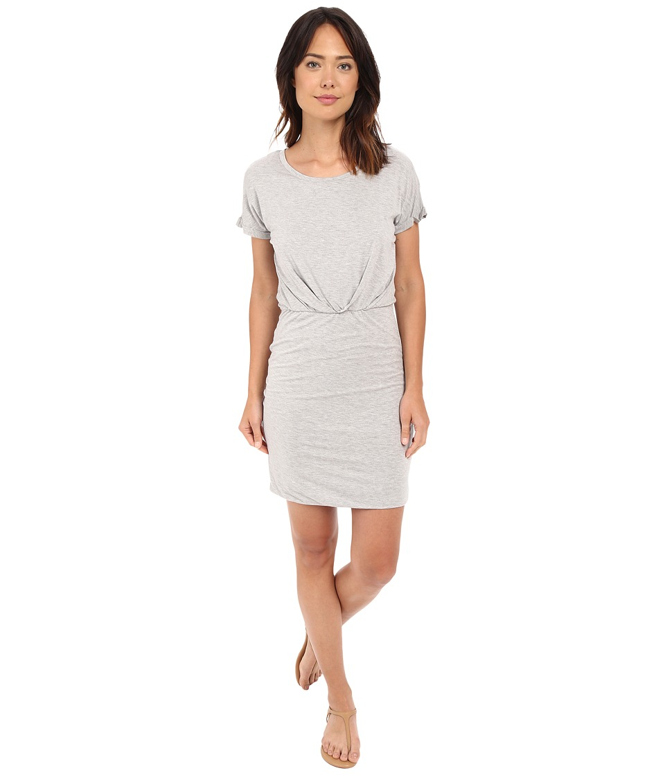B Collection by Bobeau Sia Knit Dress (Heather Grey) Women