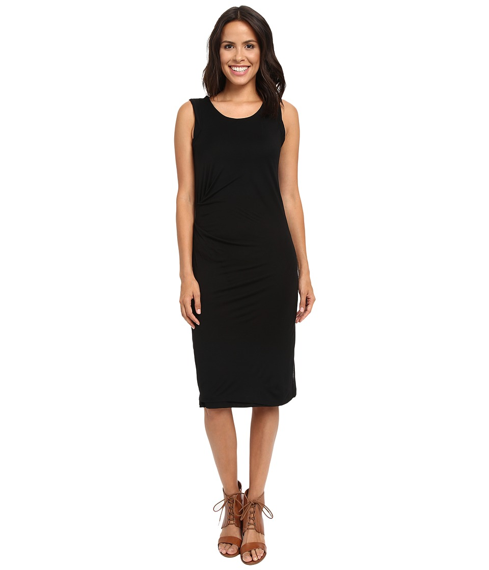 B Collection by Bobeau - Julia Side Drape Knit Dress (Black) Women's Dress