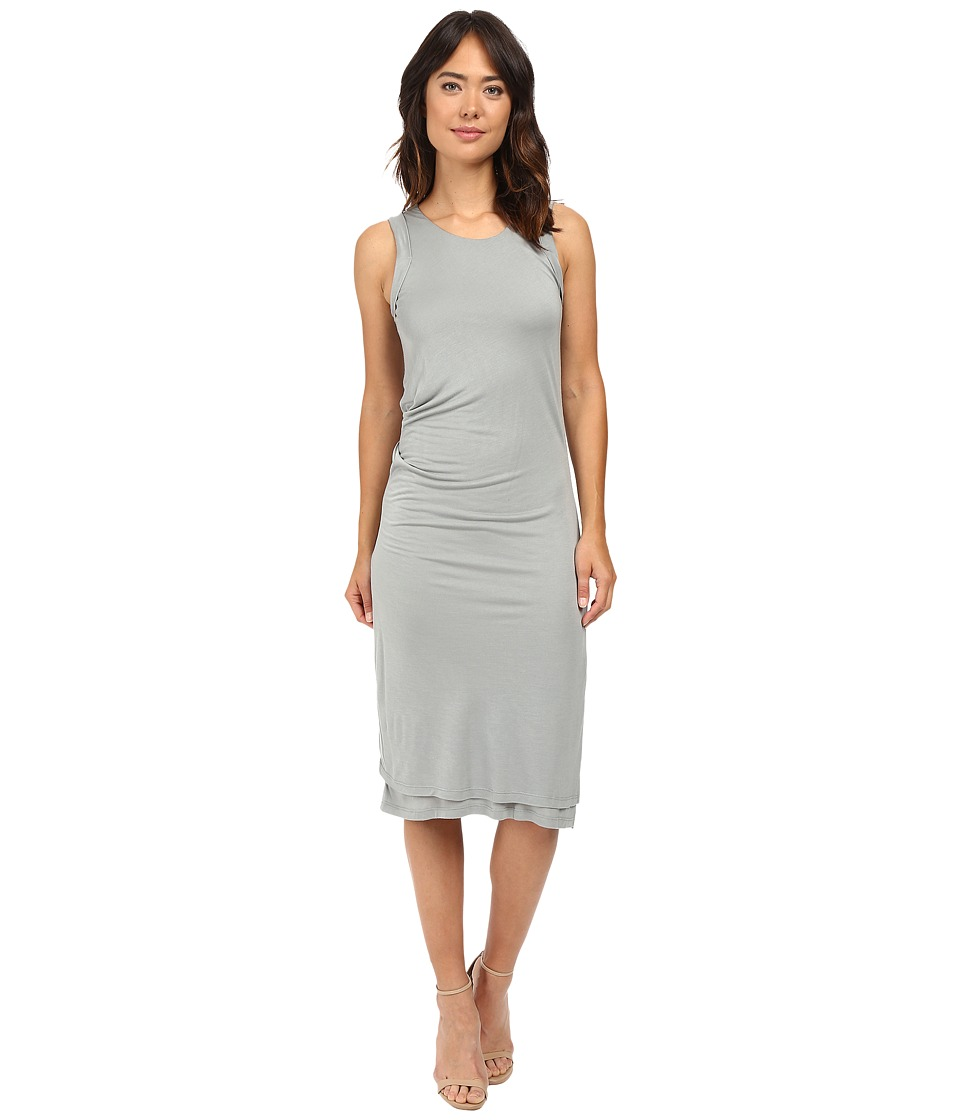 B Collection by Bobeau - Julia Side Drape Knit Dress (Sage) Women's Dress