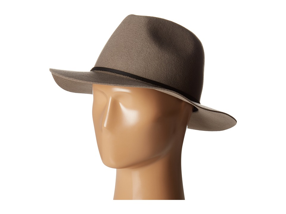 Brixton - Wesley Fedora (Natural) Traditional Hats
