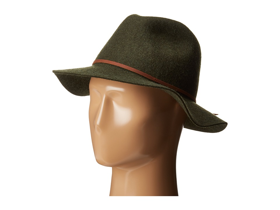 Brixton - Wesley Fedora (Heather Moss) Traditional Hats