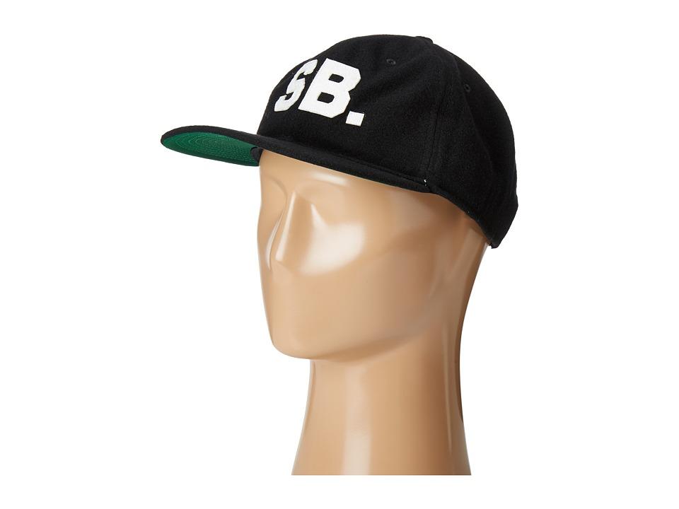 Nike SB - Infield Pro Cap (Black/Pine Green/Black/Sail) Baseball Caps
