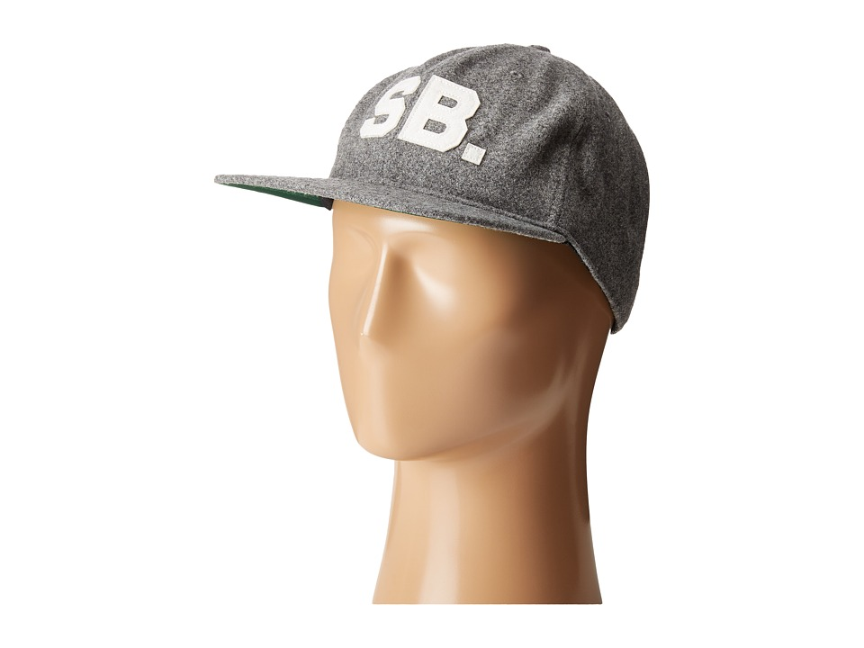 Nike SB - Infield Pro Cap (Dark Grey Heather/Pine Green/Black/Sail) Baseball Caps