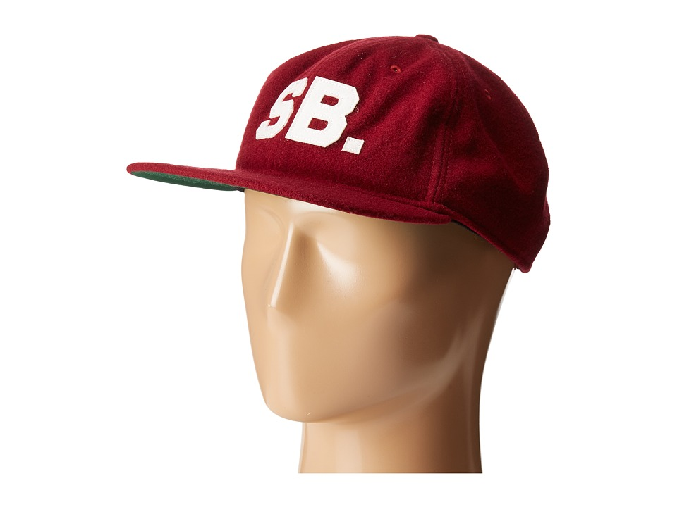 Nike SB - Infield Pro Cap (Team Red/Pine Green/Black/Sail) Baseball Caps