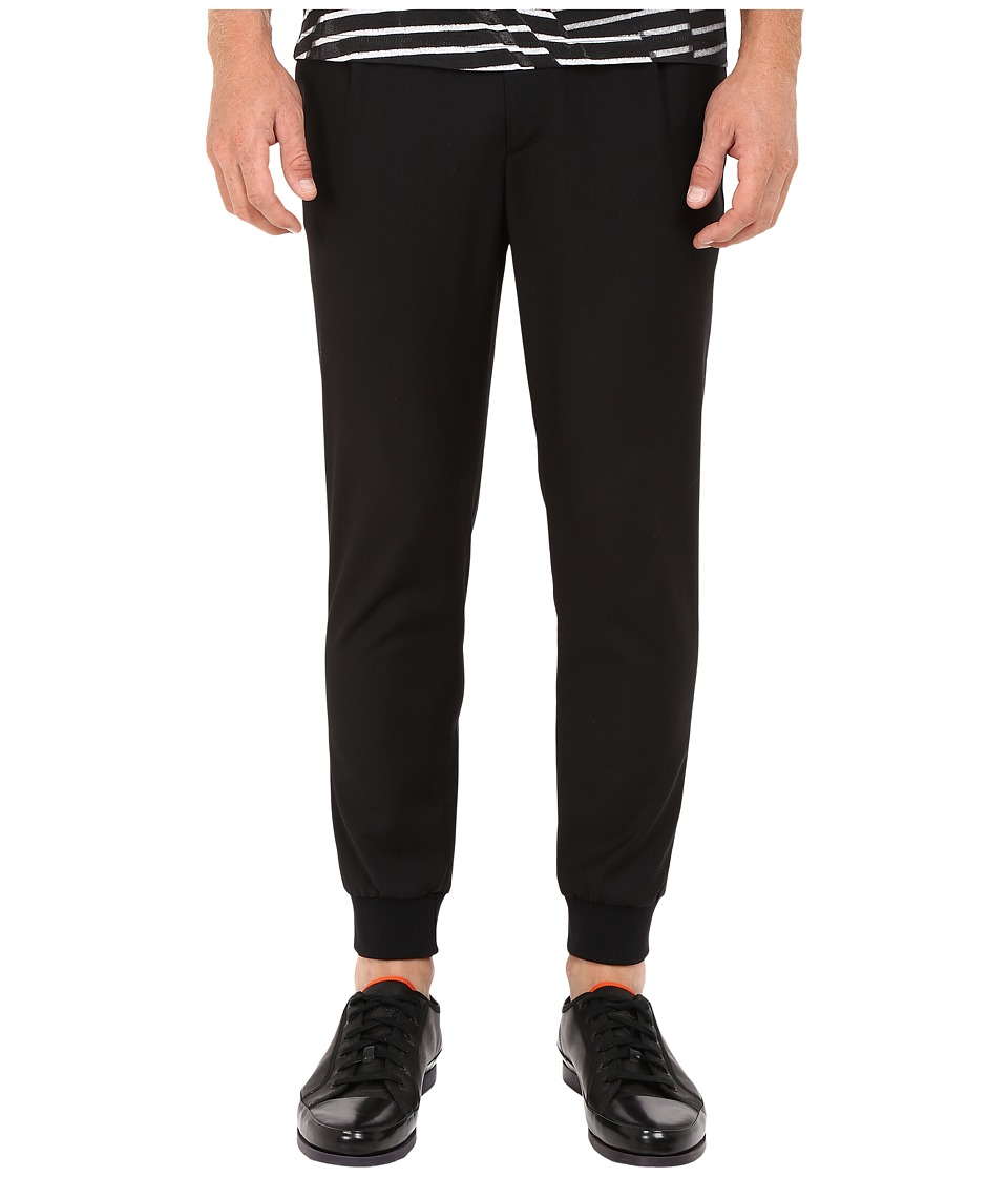 McQ - Tailored Trackpants (Darkest Black) Men's Casual Pants