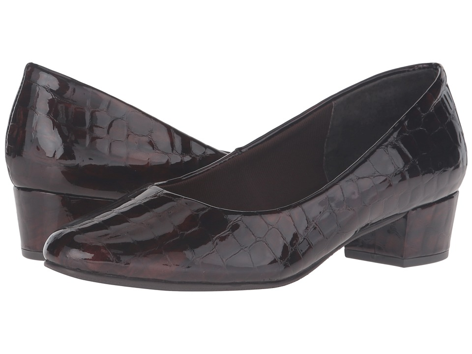Rose Petals Emma (Brown Croc) Women
