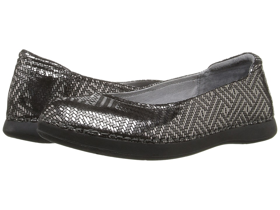 Alegria - Petal (Pewter Dazzler) Women's Flat Shoes