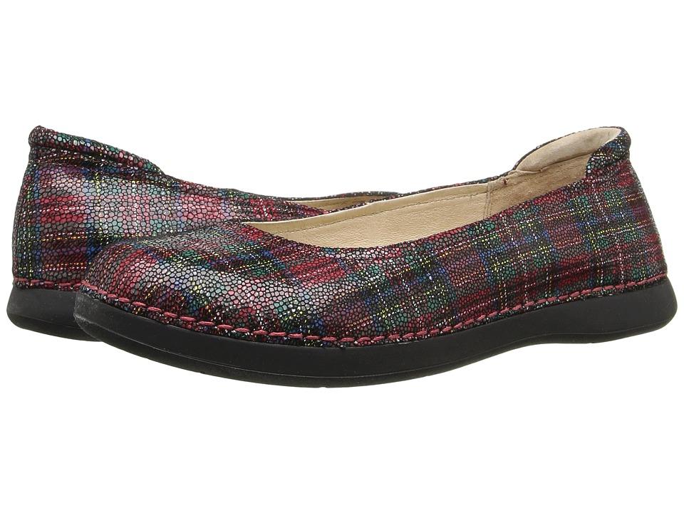 Alegria - Petal (Tartan) Women's Flat Shoes