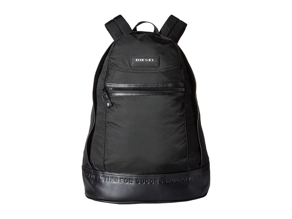 Diesel - On The Road Twice New Ride - Backpack (Black) Backpack Bags