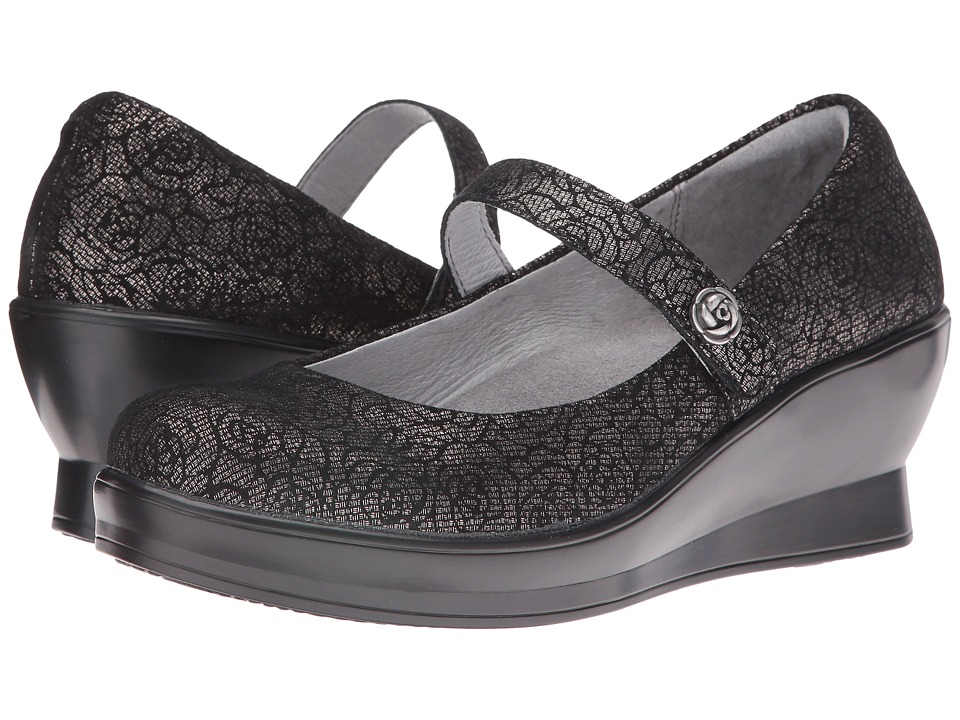 Alegria - Flair (Pewter Florette) Women's Shoes