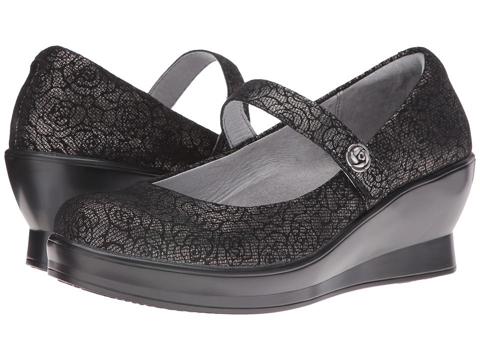 Alegria - Flair (Pewter Florette) Women's Shoes